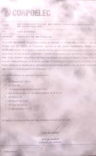DENUNCIAN DESMANTELAMIENTO DE LÍNEAS DE ALTA TENSIÓN EN FINCAS DE TORRES POR PARTE DE CORPOELEC