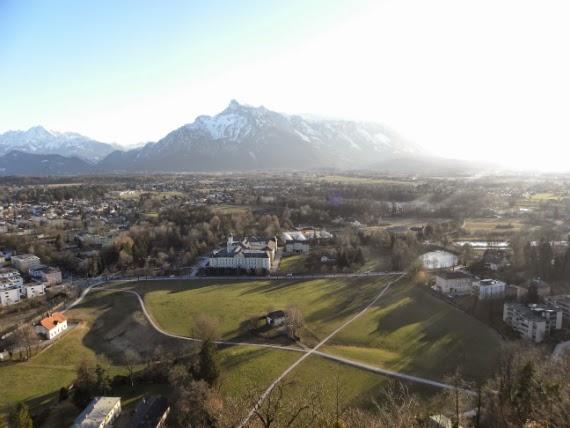Salzburgo-Áustria-Alpes