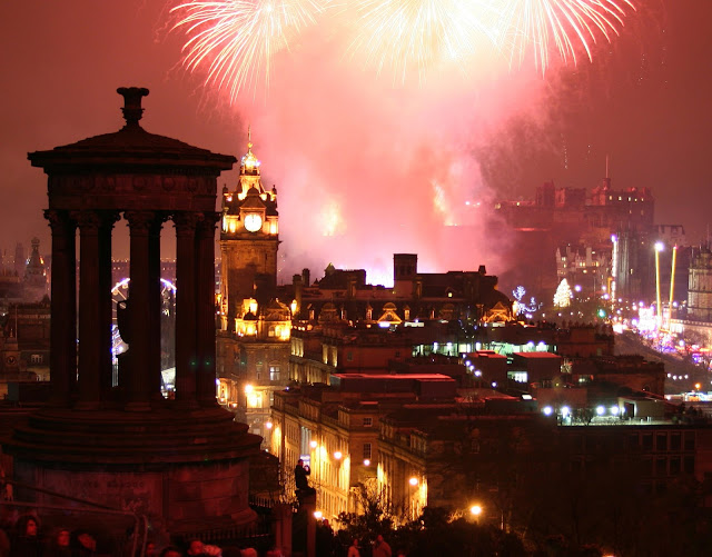 Hogmanay - New Year's Eve in Edinburgh