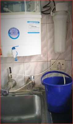 water purifier with bucket