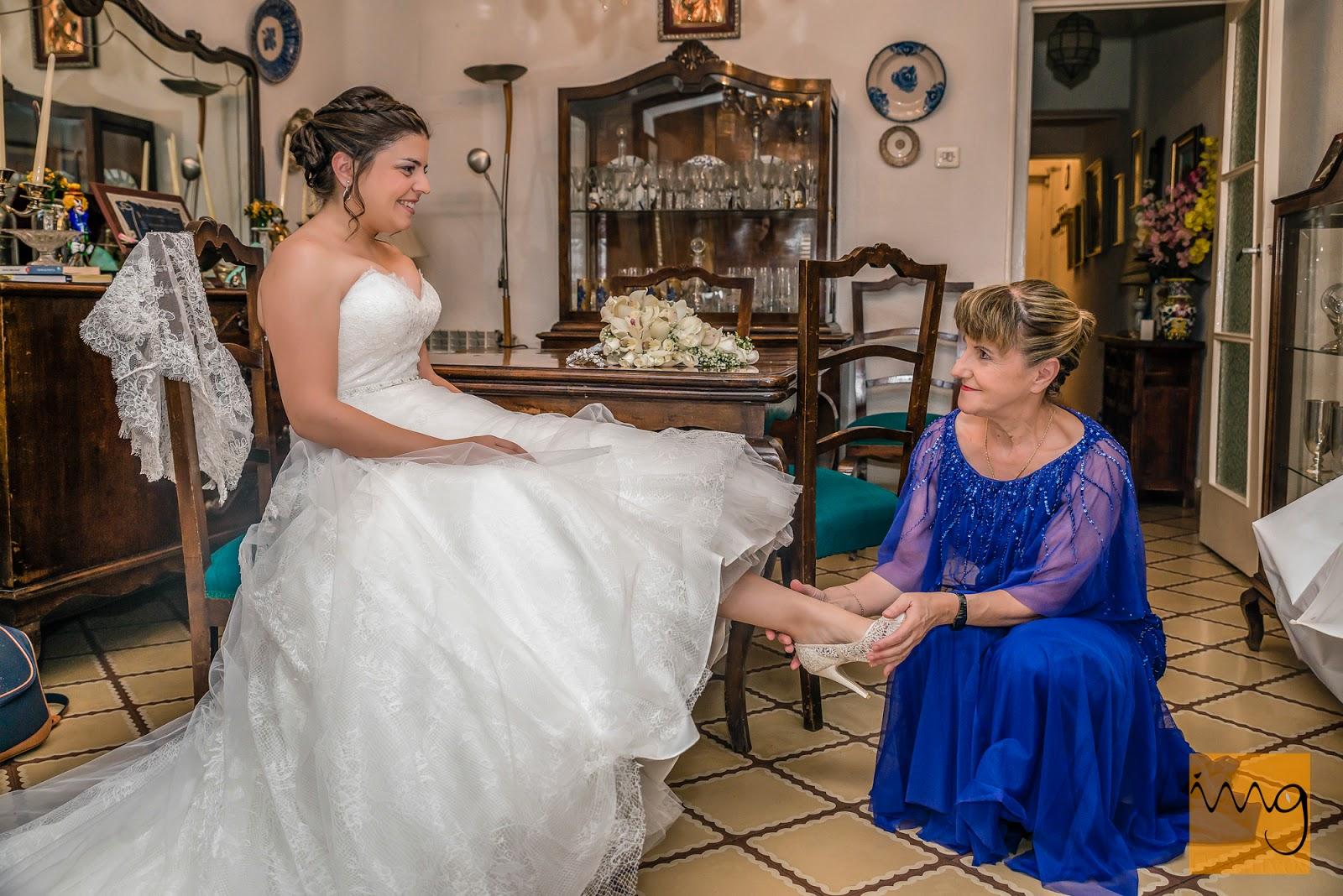 Fotografía de boda, preparativos de la novia