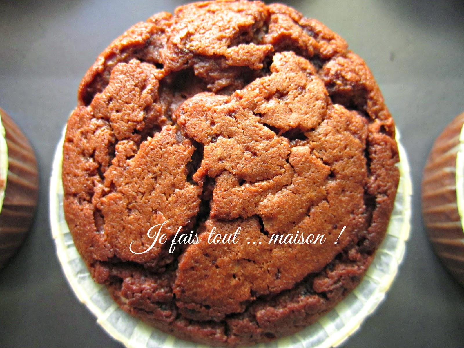 Muffins au chocolat super moelleux