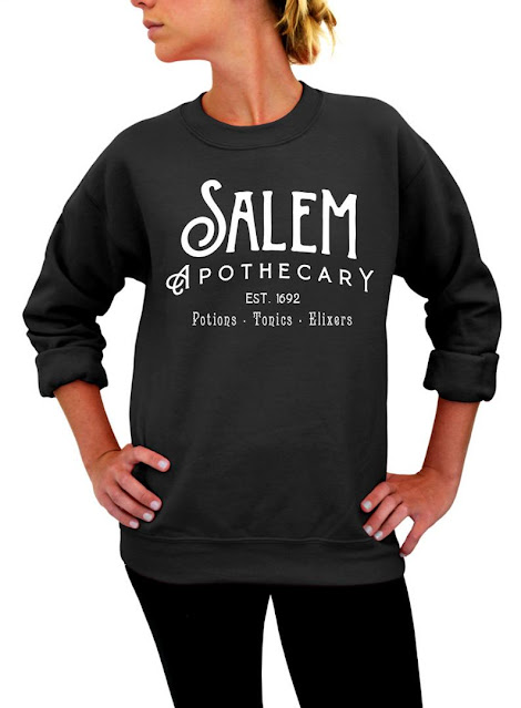 Salem Apothecary Witch Sweatshirt