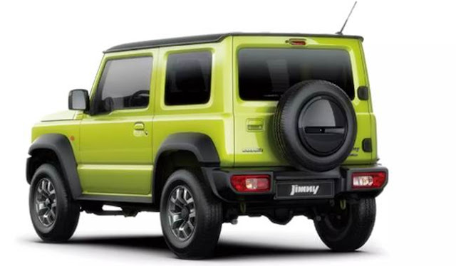 Suzuki Jimny 2019 Specs and Price