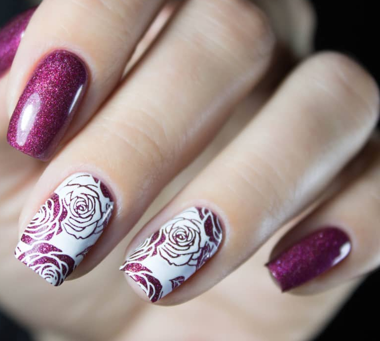 nail-art-fiori-stamp