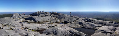 Panorama of the top of Mt. Monadnock