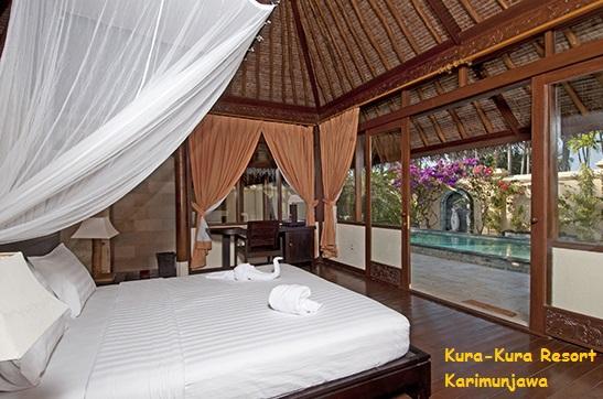 gambar kamar villa kura kura resort karimunjawa
