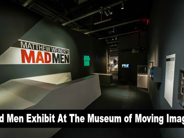 Mad Men Exhibit At The Museum of Moving Image