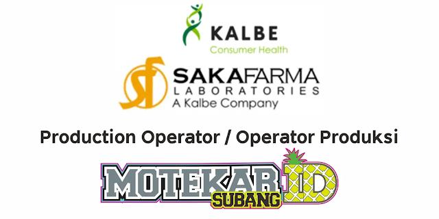 Info Lowongan Kerja PT Saka Farma Laboratories Maret 2021 - Motekar Subang