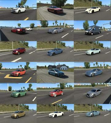 Traffic Mobil Dari Burnout Paradise, Watch Dogs, Just Cause 3 v1.2.1