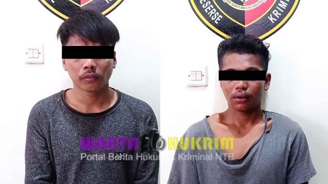 Dua Pelaku Jambret Dibekuk Tim Puma Setelah Beraksi Merampas Tas Milik Seorang Perempuan