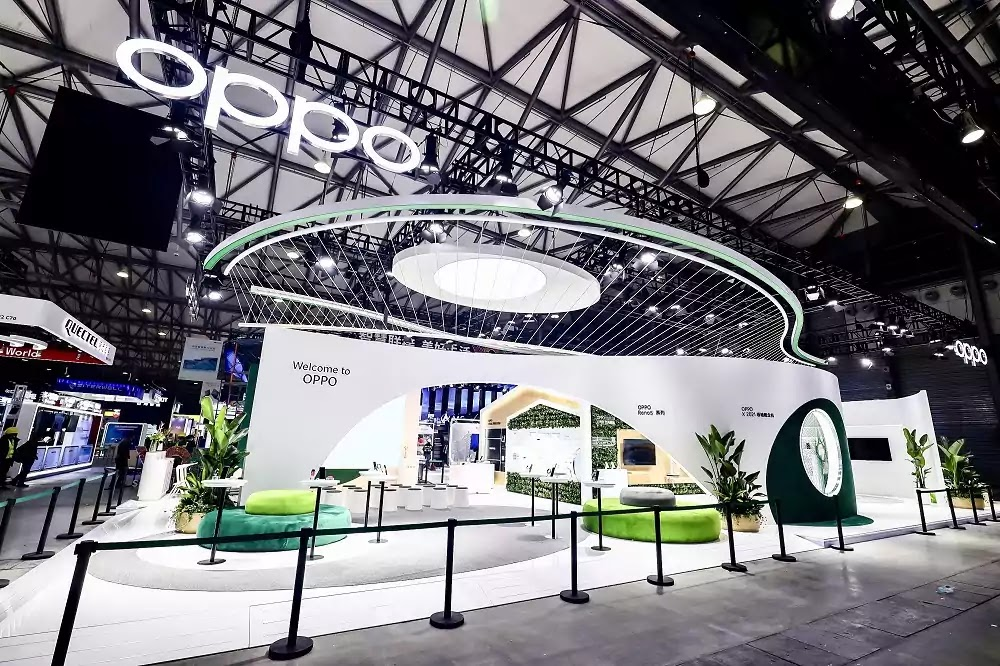 OPPO Booth at MWCS 2021