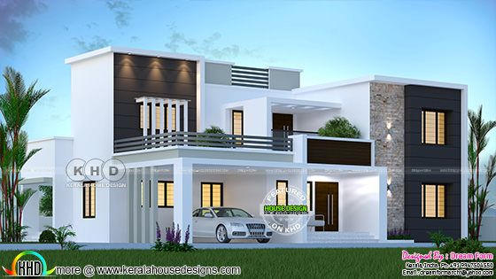 3155 sq-ft 4 bedroom modern house plan