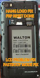 Walton E10 Plus Flash File