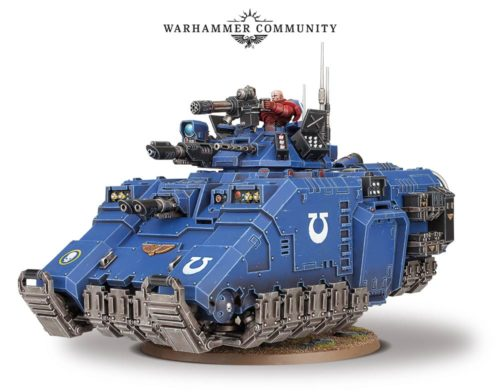 This Week's Pre-Orders with Prices: Primaris Repulsor, Primaris Apothacary and Chaplain