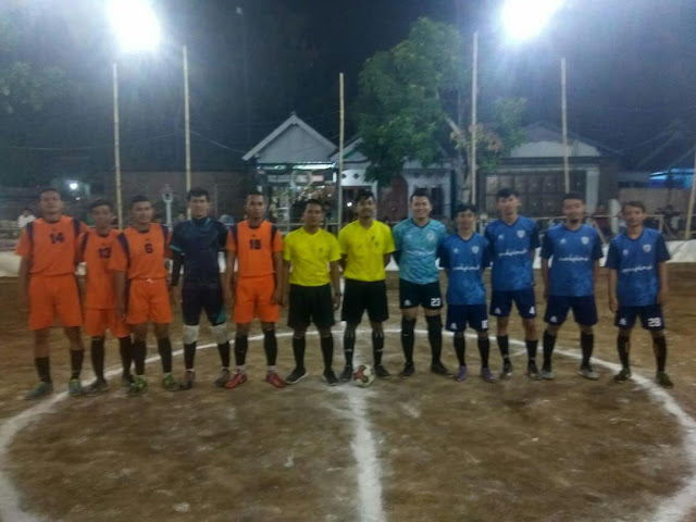 Tim Tawon Squad Yonif MR 413 Kostrad Ikuti Turnamen Futsal Bhuyut Sentana Cup II 2019