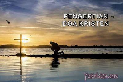 pengertian doa kristen