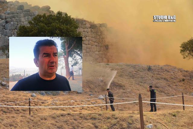 Ι. Μαλτέζος: Μακάρι να είναι η τελευταία πυρκαγιά στην Αργολίδα