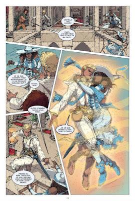 White Sand tome 2 - le dessin détaillé de Julius Gopez