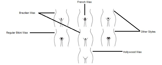 Examples of bikini wax styles sorry, that