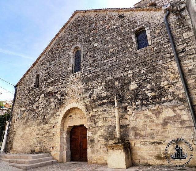 MEYSSE (07) - Eglise romane Saint-Jean-Baptiste