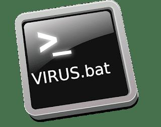 cara membuat virus lewat cmd