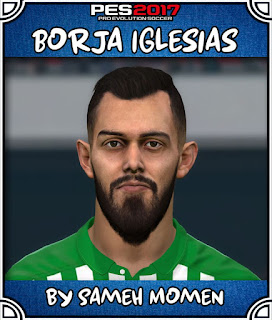 PES 2017 Faces Borja Iglesias by Sameh Momen