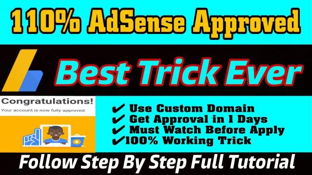 How to Get AdSense Approval Within 1 Day