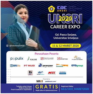 UNSRI CAREER EXPO MARET 2020