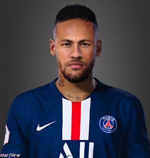 PES 2020 Faces Neymar Jr by Lucas Facemaker
