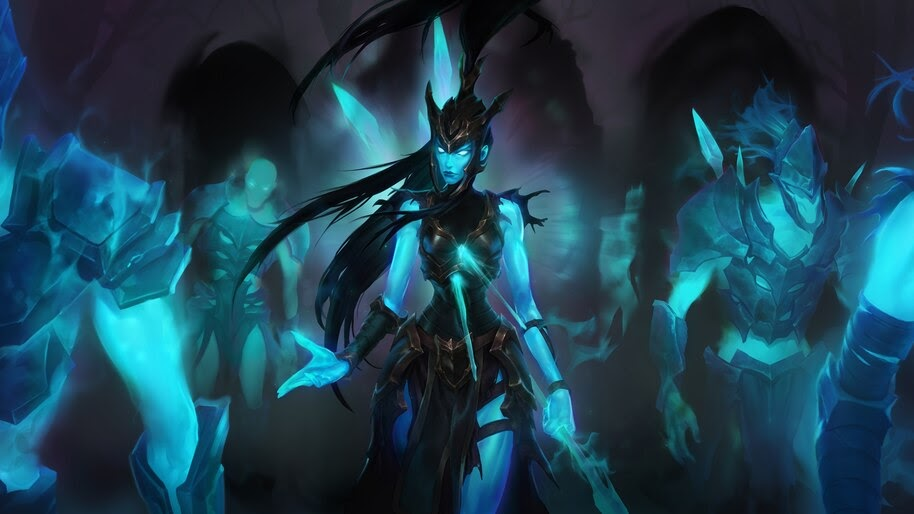 Kalista, LoL, Legends of Runeterra, 4K, #4.1575