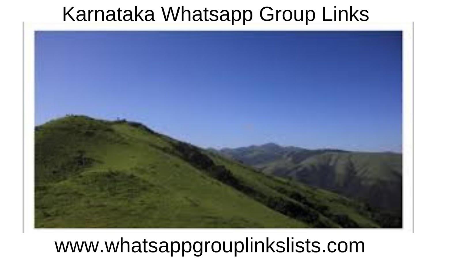 Join karnataka Whatsapp Group Links List