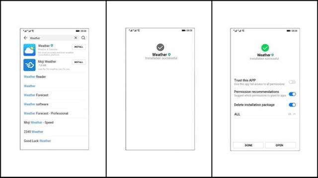 صور سكرين شوت لنظام هواوي الجديد Ark OS