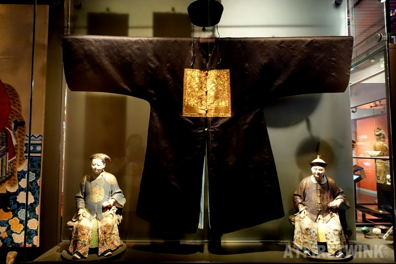 Museum Volkenkunde Leiden China costume ancient government official