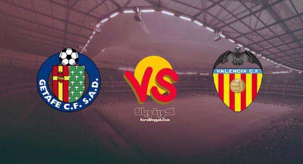 نتيجة مباراة فالنسيا وخيتافي اليوم 13-08-2021 في الدوري الاسباني