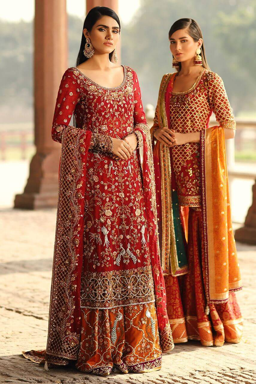 Sania Maskatiya Barat Dress for Bride
