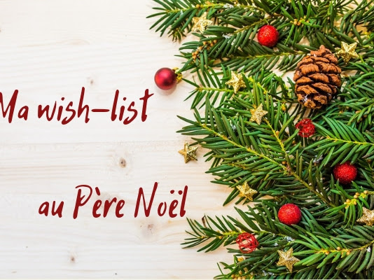 🎁🎄 Ma wish-list au Père Noël 🎄🎁