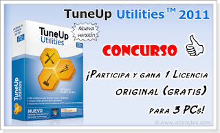 Clave de licencia para TuneUp Utilities 2011 gratis