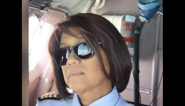 Capt Pilot Wanita Pertama di RI Sempat Cerita Kena COVID-19 Sebelum Wafat