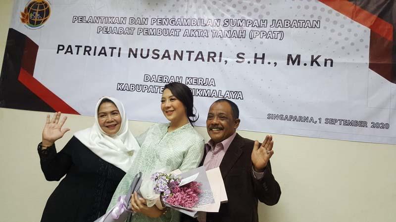 Patriati Nusantari Resmi Jadi PPAT Kabupaten Tasikmalaya