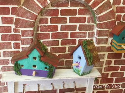 Minyatür Kuş Evi