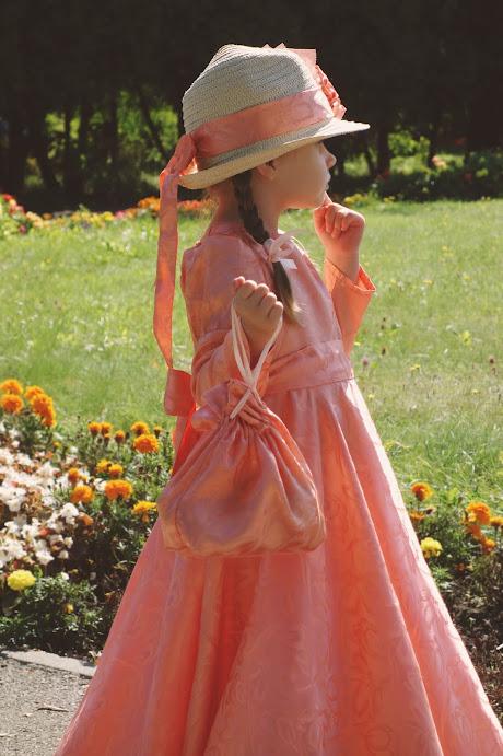 jak uszyć suknię balową dla dziecka