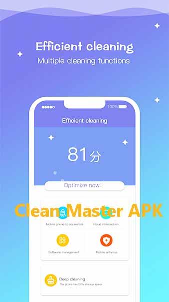Tải Clean Master - Cây chổi quét virus, dọn rác trên điện thoại Android, PC b