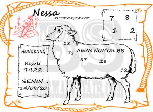 Kode syair Hongkong Senin 14 September 2020 174