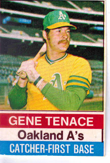 Project Baseball 1976 1976 Hostess 122 Gene Tenace