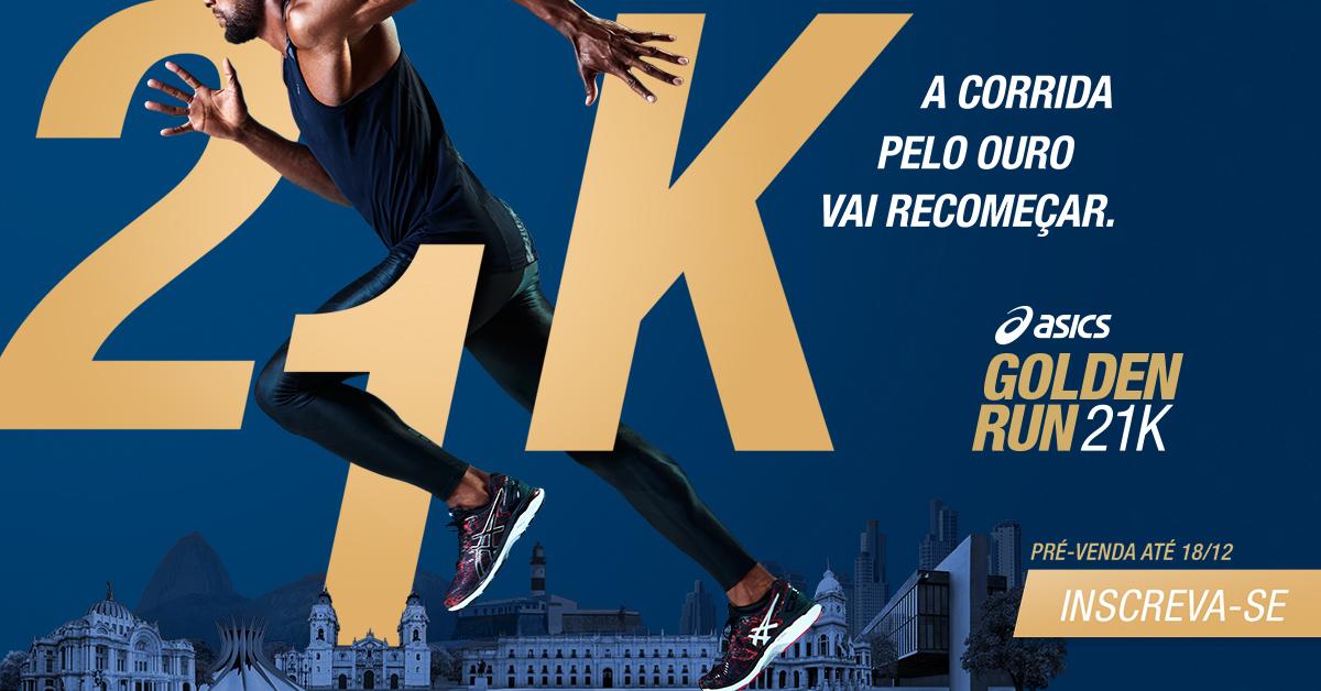 ASICS Golden Run chega a mais 3 países da América do Sul 5224b71324432