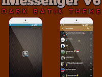 BBM iMessenger V6 Series Tema Batik Keren By Nami Abdi Fahmy