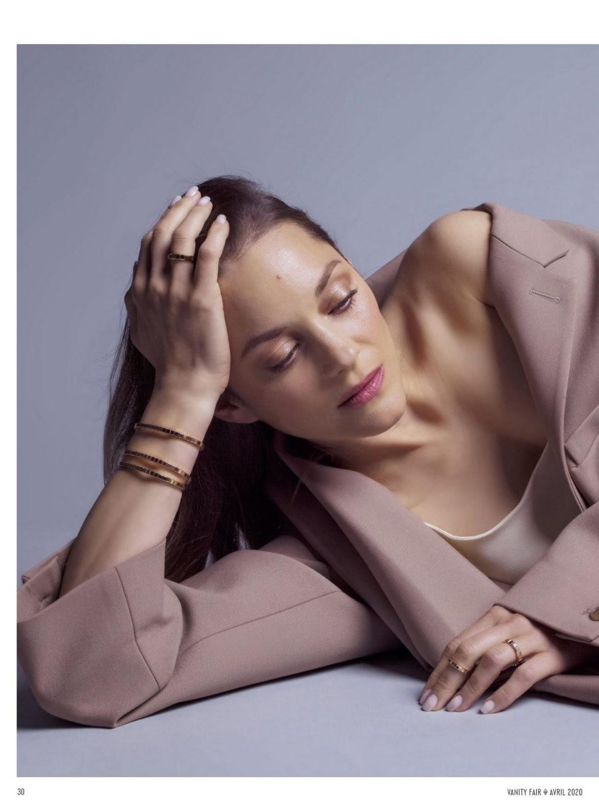 Marion Cotillard Vanity Fair France April 2020 Issue