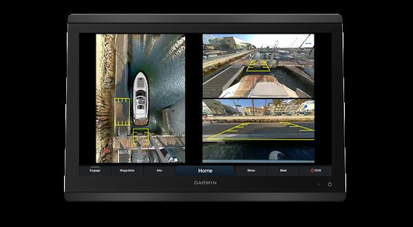 Garmin apresenta Surround View, o primeiro sistema de câmaras náuticas a proporcionar uma visão de 360° da embarcação