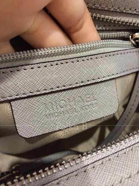 200a7213fc332 ... pearl gray price firm michael kors selma silver bag ...